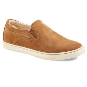 Ugg Fierce Water Resistant Suede Slip On Sneakers